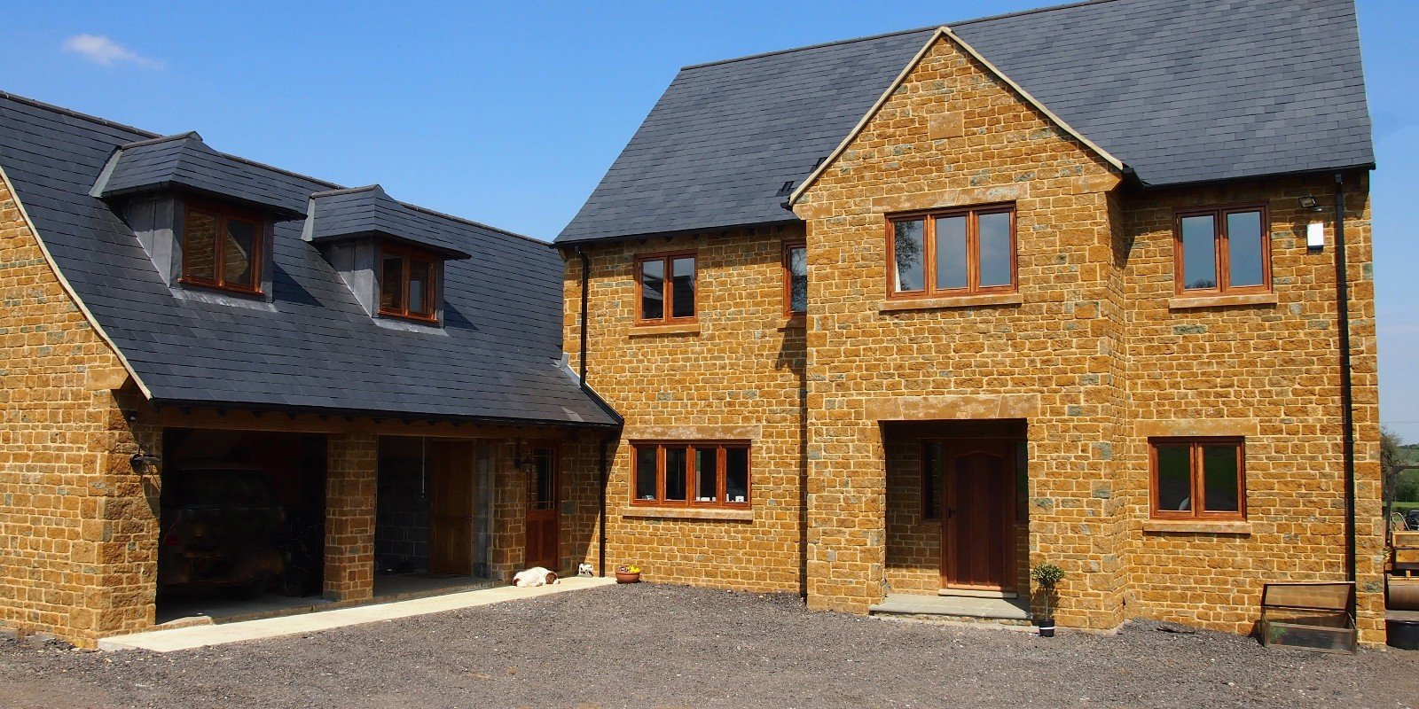 New Build In Bradfrord, West Yorkshire