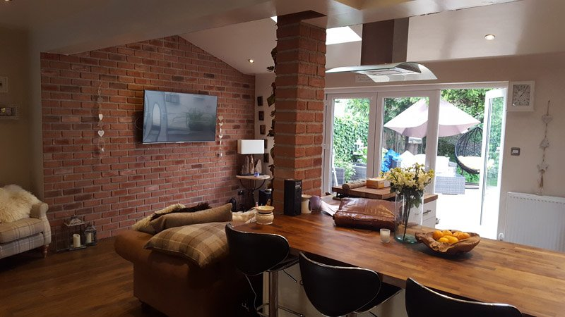Brickwork interior architecture - Wakefield, West Yorkshire