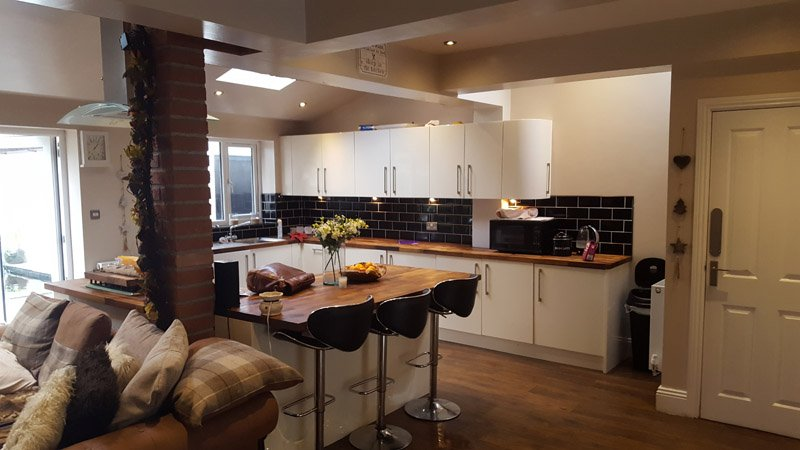 kitchen extsnion leeds west yorkshire