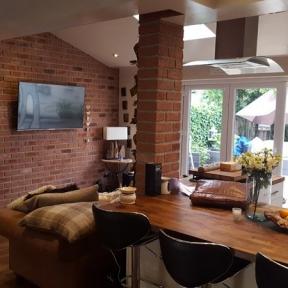 Brickwork interior architecture - Wakefield, West Yorkshire