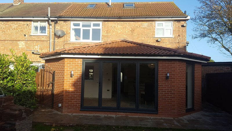 rear extension with hipped roof leeds, west yorkshire