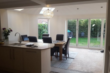 Before, During & After Extension in Headingley