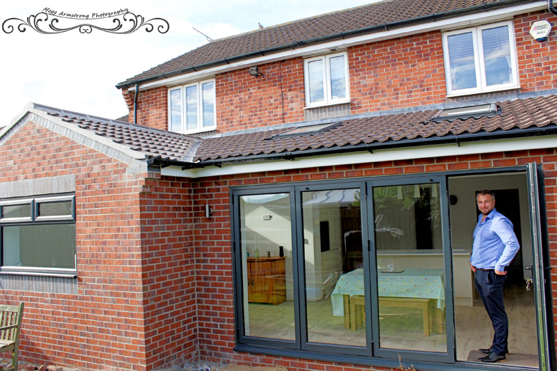 rear extension castleford, west yorkshire