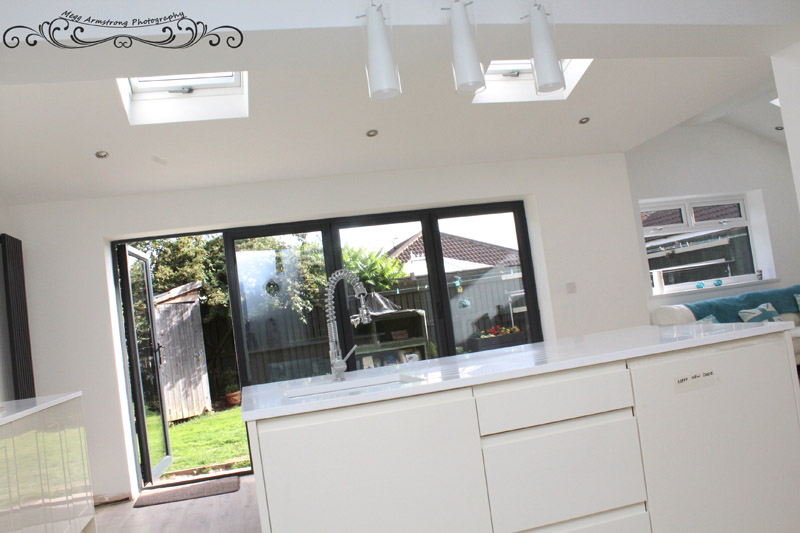 Open Plan Kitchen Extension in Castleford, West Yorkshire
