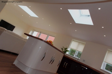 Single storey rear extension hipped roof