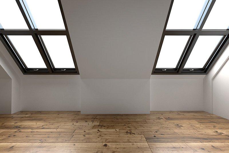 Vaulted Ceiling Roof Conversion Velux Glazed Leeds West Yorkshire