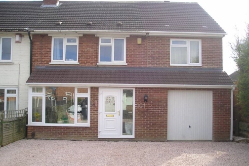 double storey extension holbeck