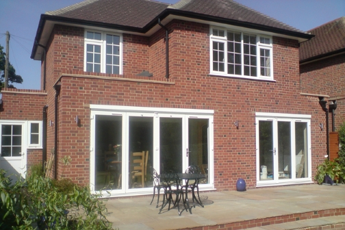 double storey extension morley