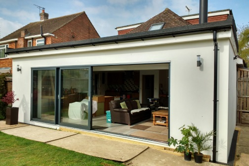 Rear single extension design in Leeds
