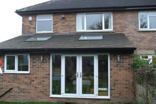 Single storey extension in Leeds