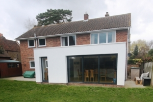 single storey extension headingley