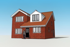 3D House Visualisation Leeds