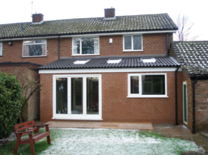Small single storey extension in Leeds West Yorkshire