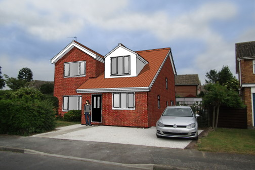3D house extension visulasition Leeds