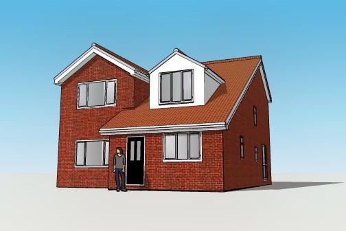 3D new build drawing Leeds