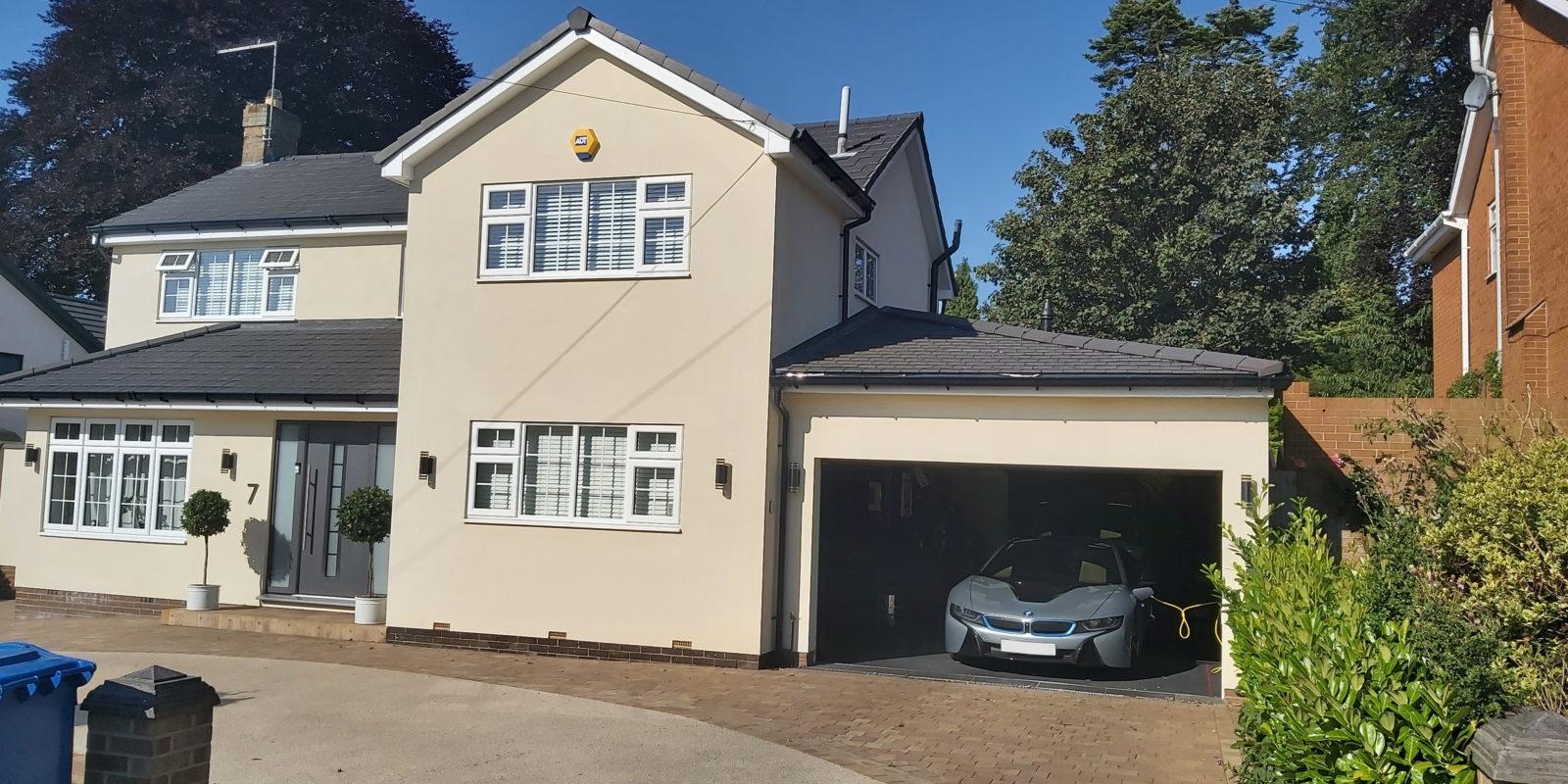 New Build Garage in Leeds