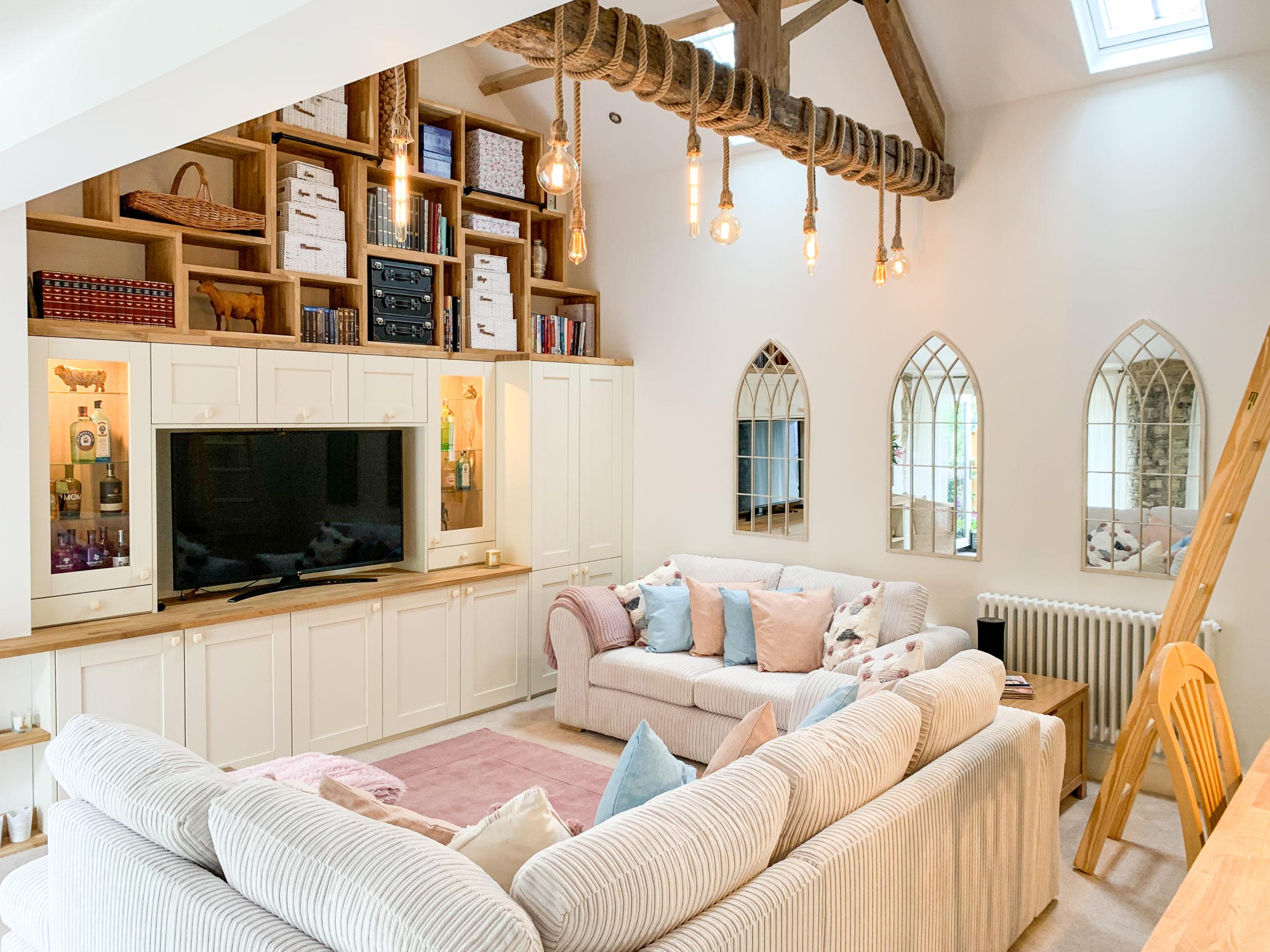 Beautiful barn conversion layout
