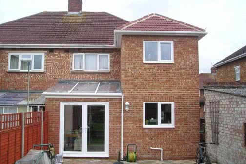 Double storey house extension in Huddersfield
