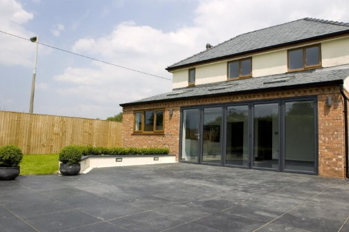 Single storey extension with bifold doors in Bradford