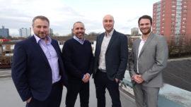 CK Architectural design team on roof